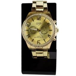 Relógio feminino em Strass A Prova D'Agua da marca DHP
