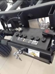 Trava Anti Furto P/ Baterias, 1 Ou 2 Com Ou Sem tampa