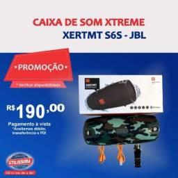 Caixa de Som Portátil Xtreme Xertmt S6S  ? Entrega grátis