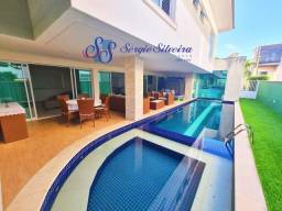 Casa no Alphaville Fortaleza belíssima com piscina, sauna, deck com churrasqueira