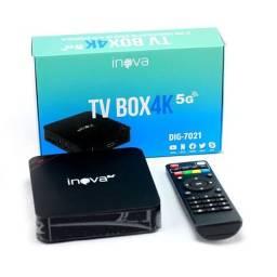Vendo tv box pouco uso