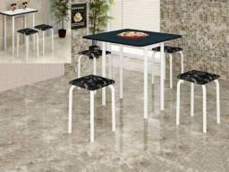 Mesa Dobravel Luana com 4 Banquetas