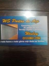 Título do anúncio: Serralheria fabricação de porta de aço