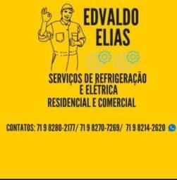 Serviços de Refrigeração e Elétrica Residencial e Comercial