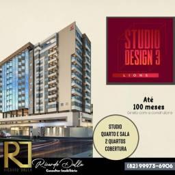 Lançamento Maceió - Excelente investimento Studio Design Lions