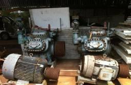 Trocadores de Calor e Compressores Alternativos/Parafuso Madef, Howden, Sabroe, Mycon
