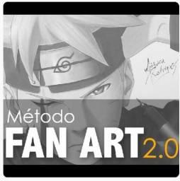 Curso online de desenho método fan art