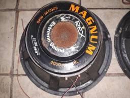 Alto falantes de 18 magnum 3000w rms rex extreme sound