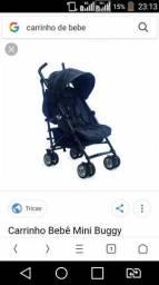 Compro carrinho de bebe masculino