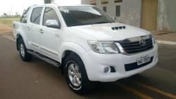 Hilux C. Dupla Srv 3.0 4X4 Diesel Aut 2012 - 2012