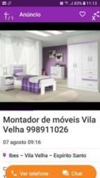 Montador de Móveis Vila Velha 998911026