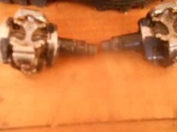 Sapatilha taco e pedal
