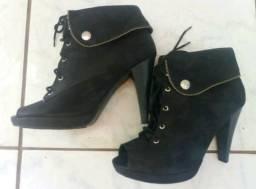 Lote de calçados femininos seminovos