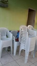 Cadeira de plástico vendo 50 somente todas