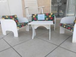 Jogos de sofá infantil de 3 e mesinha de centro