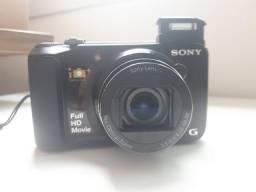 Câmera Digital sony 18.2 MP Full HD foto 3D e panorâmica (aceito cartão)