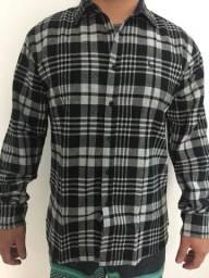 1df162622e Camisa Xadrez Flanelada Masculina Pronta Entrega