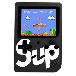 Vídeo Game Box Gamepad Retro Clássicos 256 Games 8 Bits Novo Garantia Frete Grátis