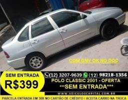 Polo Sedan Classic 2001 Sem Entrada Parcelas de 399 reais - 2001