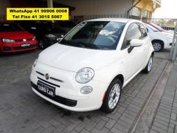 Fiat 500 Cult 2013 1.4 Flex Completo (up move onix hb20 gol ) - 2013