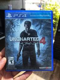 Jogo PS4 Usado Uncharted 4 Envio para todo brasil