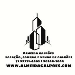 Alugo Galpao/ Depósito/ Barracão por M² Lauro de Freitas