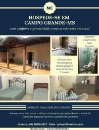 Casa mobiliada, diária/temporada, 3 quartos, acomoda até 12 pessoas, bem localizada!