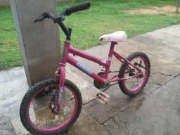 Bicicleta Feminina Aro 16 Fadinha Cairu