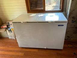 Freezer metal frio semi novo