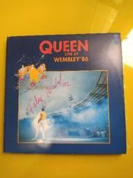 Vinil Queen Live at Wembley' 86 (duplo) comprar usado  Porto Alegre