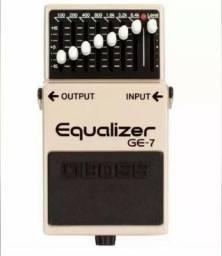 Pedal Boss Ge-7 Equalizer Equalizador Gráfico Guitarra Ge7