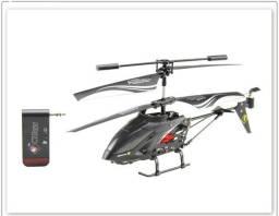 Helicóptero de controle remoto (controlado por iPhone)