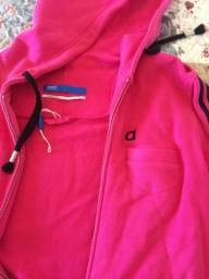 Jaqueta Adidas 3S com capuz