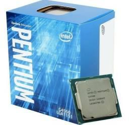 Processador Intel Pentium G4560 + Placa Mãe H110M pro-vh plus