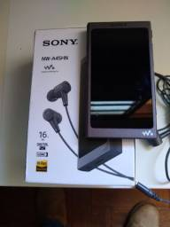 Walkman Sony MP3 + HD Samsung 256 GB usado