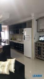 Apartamento à venda com 2 dormitórios em Campestre, Santo andré cod:609750