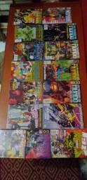 Lote de revista Wolverine e outras