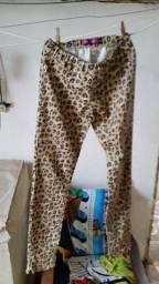 Título do anúncio: Calça Estampada Onça Miss Young