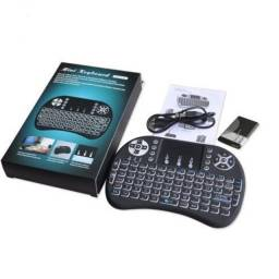 Mini teclado para controlar tv box smart tv pc entre outros