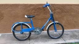 Bicicleta caloi berlineta dobrável aro 20