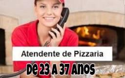 Atendente de Pizzaria