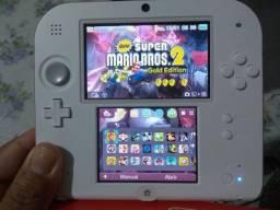 Nintendo 2DS novo aceito cartão V)T
