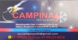 Assistência especializada em elétrica e ar-condicionado