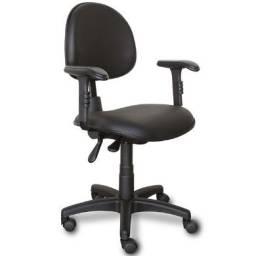 Cadeira executiva backsysten NR17/regulagem de braço, encosto e assento