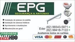 Instalações & manutenções de antenas em geral !