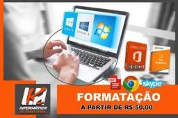 Formatação PC e notebooks cascavel PR Buscamos e entregamos
