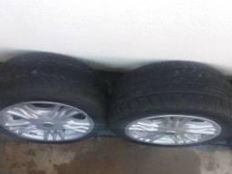 Rodas aro 15 multi furos com pneus