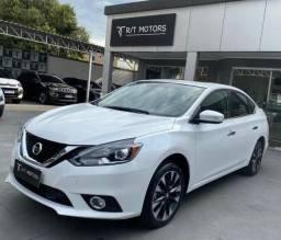 Nissan Sentra SL 2019 TOP c/ Teto e Multimídia - Baixa Km