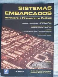 Livro Sistemas Embarcados: Hardware e Firmware na prática - Ótimo estado de conservação