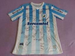 Camisa do Londrina Autografada pelos jogadores